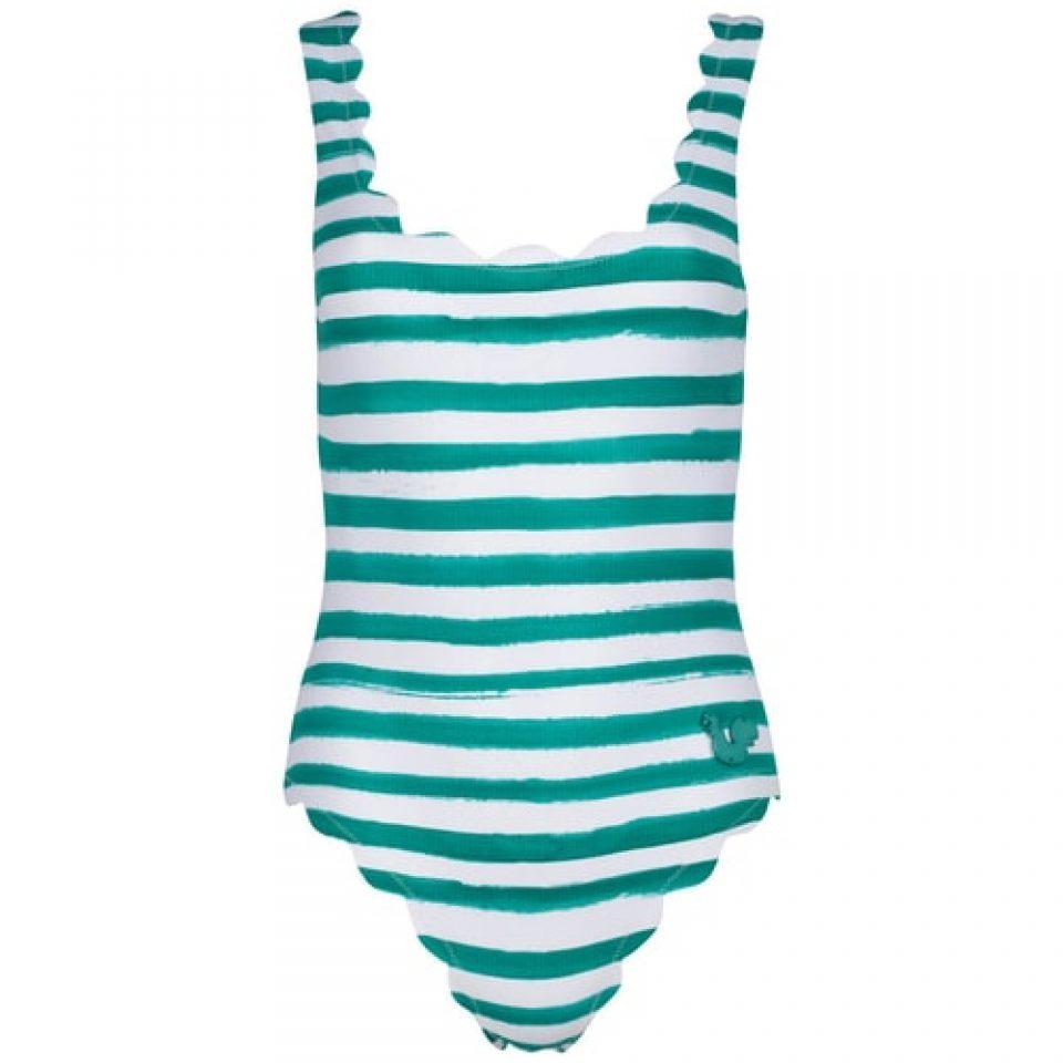 women's striped bathing suit swimwear photography clothingphotography.com